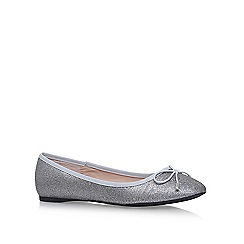 Carvela - Silver melody 3 flat pumps