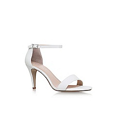 Carvela - White 'Kiwi 2' high heel sandals