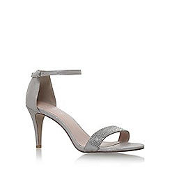 Carvela - Silver 'Kiwi2' high heel sandals
