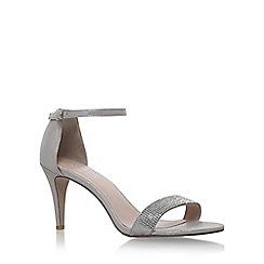 Carvela - Silver 'Kiwi2' high heel sandals