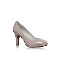 Anne Klein - Brown 'Lolana' high heel court shoes