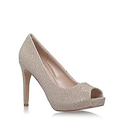 Carvela - Silver 'Lara 2' high heel sandals