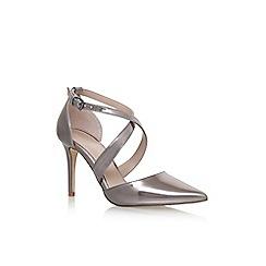 Carvela - Grey 'Kross 2' high heel sandals
