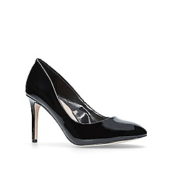 Carvela - Black 'Aimee' mid heel court shoes