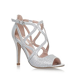 Miss KG - Silver 'Saffron' high heel sandals