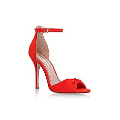 Miss KG - Red 'Sara' high heel sandals