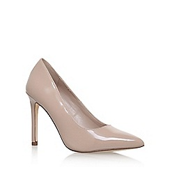 Carvela - Natural 'Kestral2' high heel court shoes