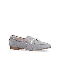 Carvela - Grey 'Leighton' flat loafers
