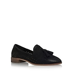 Carvela - Black 'Misty' flat slip on loafers