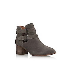 Miss KG - Brown sage mid heel ankle boots