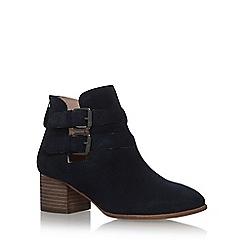 Miss KG - Blue 'Sage' high heel ankle boots