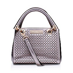 Carvela - Metal 'Micro Dee' cut out handbag with shoulder straps
