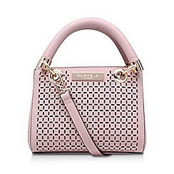 Carvela - Pink 'Micro Dee' cut out handbag with shoulder straps