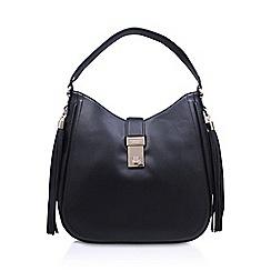 Carvela - Black 'Orchid' tassel bag with shoulder straps