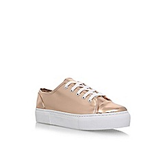 Carvela - Metal 'Maddy' flat lace up sneakers