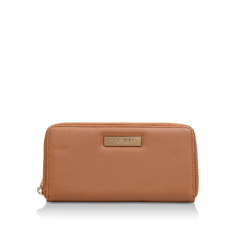 Carvela Tan 'Alis2 Zip Wallet' zip around purse - MISC - Purses (5057720997115) photo