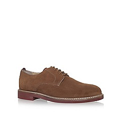 KG Kurt Geiger - Brown 'Harper' flat lace up shoes