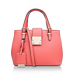 Carvela - Orange 'Micro Mandy' slouch handbag with shoulder straps