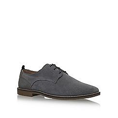 KG Kurt Geiger - Grey 'Kettering' flat lace up shoes