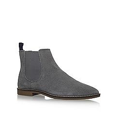 KG Kurt Geiger - Grey 'Kinross' flat chelsea boots