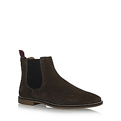 KG Kurt Geiger - Brown 'Kinross' flat chelsea boots