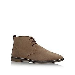 KG Kurt Geiger - Brown 'Kintore' flat lace up desert boots