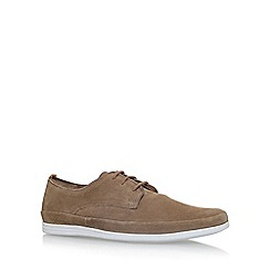 KG Kurt Geiger - Brown 'Kirkham' flat lace up shoes