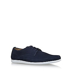 KG Kurt Geiger - Blue 'Kirkham' flat lace up shoes