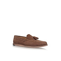 KG Kurt Geiger - Brown 'Knighton' flat slip on loafers