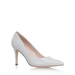 Carvela - Silver 'Kray2' high heel court shoes