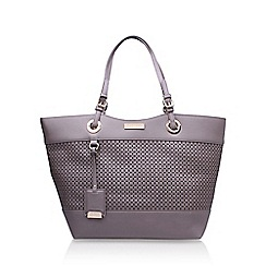 Carvela - Brown 'Lucinda' cut out shopper handbag with shoulder straps