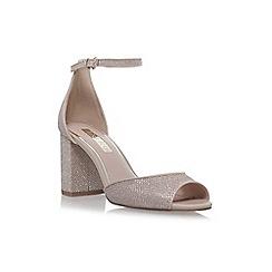 Miss KG - Gold 'Gaze' high heel sandals