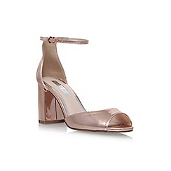 Miss KG - Grey 'Gaze' high heel sandals