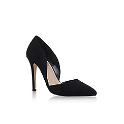 Carvela - Black 'Lexi2' high heel court shoes