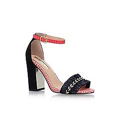 Miss KG - Black elsa high heel sandals
