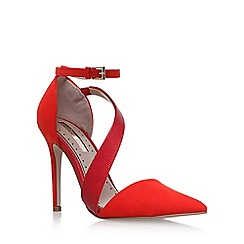 Miss KG - Red 'Arielle' high heel sandals