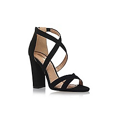 Miss KG - Black 'Faun' high heel sandals