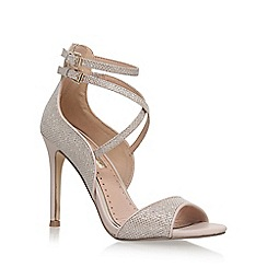 Miss KG - Gold 'Faleece' high heel sandals
