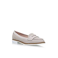 Miss KG - Natural 'Noah' flat slip on loafers