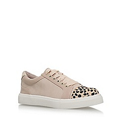 Miss KG - Natural 'Louie' flat lace up sneakers