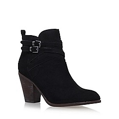 Miss KG - Black 'Spike' high heel ankle boots