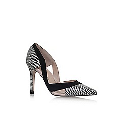 Miss KG - Black 'Ceile' high heel court shoes