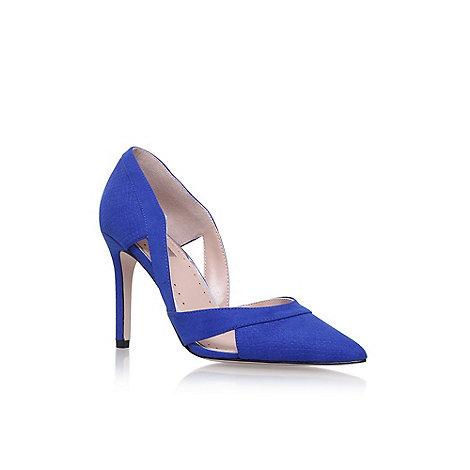 Miss KG - Blue +Ceile+ high heel court shoes