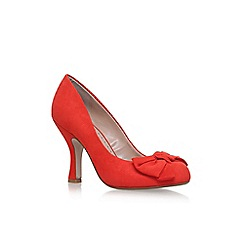Miss KG - Red 'Norma' high heel court shoes