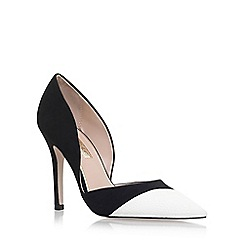 Miss KG - Black 'Caitlyn' high heel court shoes