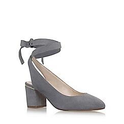 Nine West - Grey 'Andrea' high heel sandals