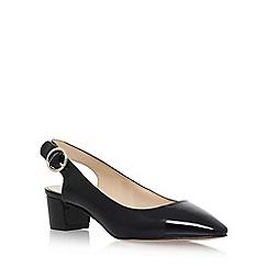 Nine West - Black 'BRIGITTE3' mid heel sandals