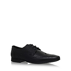 KG Kurt Geiger - Black 'KENFORD' flat lace up shoes