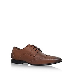 KG Kurt Geiger - Brown 'Kenford' flat lace up brogues
