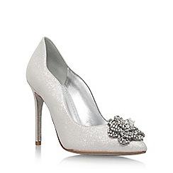 Nine West - Natural 'Elizza' high heel court shoes